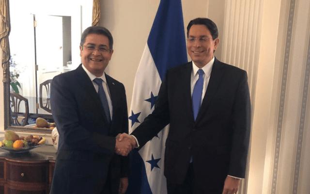 Honduras abrirá oficina comercial en Jerusalén - Foto de Twitter @JuanOrlandoH