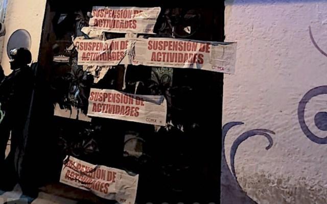 Invea suspende bar en Tláhuac; presuntamente estaba ligado a 'El Ojos' - Foto de Invea