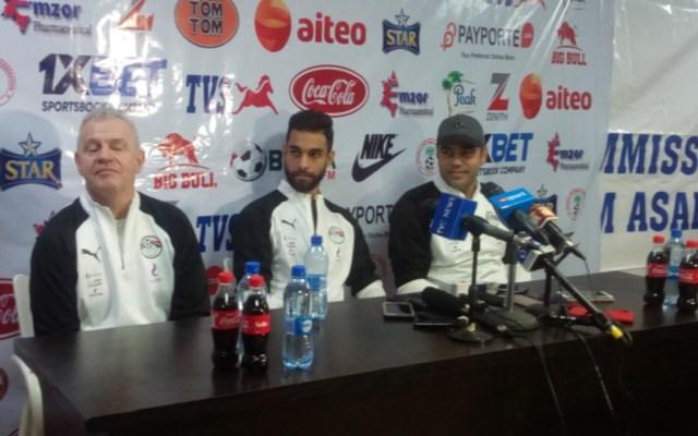 Egipto pierde su primer partido bajo la dirección de Javier Aguirre - Foto de @PlatinumNews2
