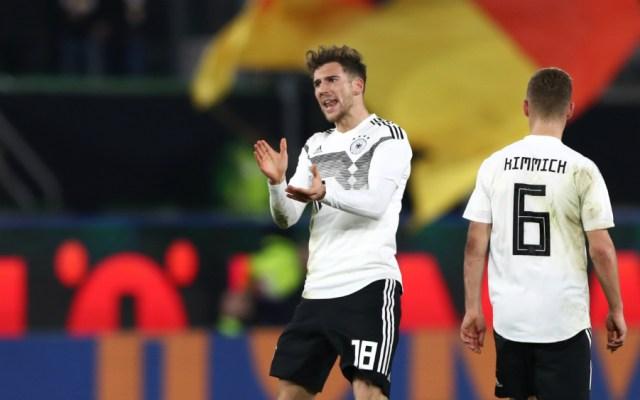 La nueva selección alemana de Löw empata en amistoso con Serbia - Foto de AFP