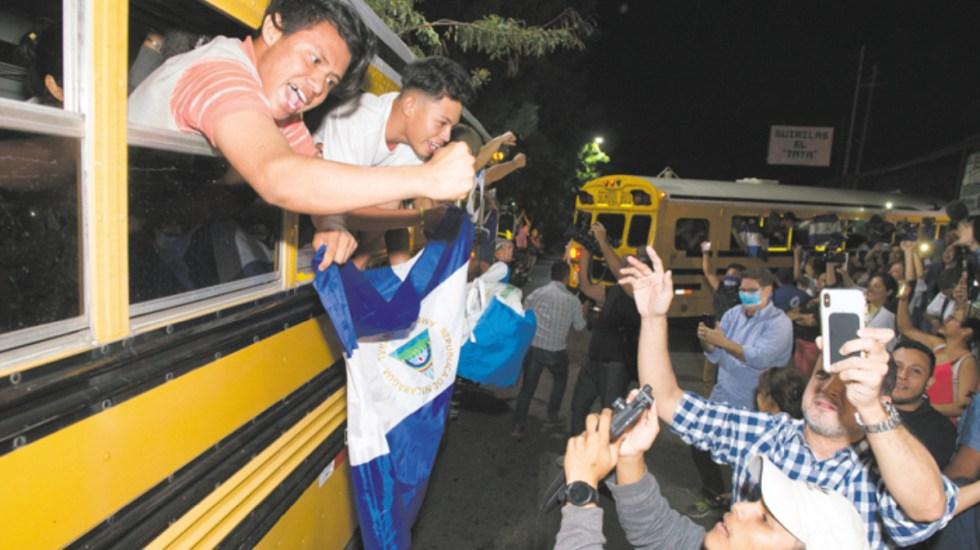 Nicaragua libera a 100 opositores detenidos violentamente el sábado - Foto de La Prensa de Nicaragua