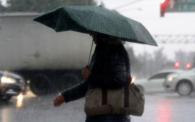 Alerta Amarilla en siete alcaldías por lluvias fuertes, granizo y viento - Foto de Notimex
