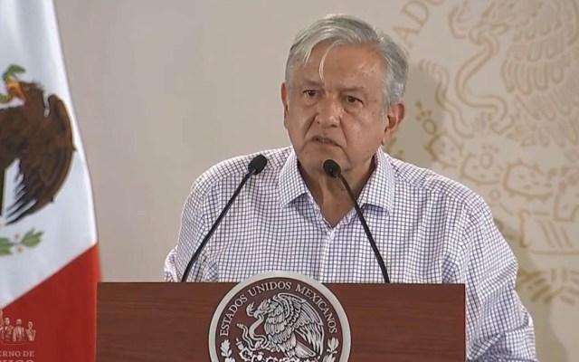AMLO adjudica alza de gasolinas a mecanismos de regulación - López Obrador en Puebla. Captura de pantalla