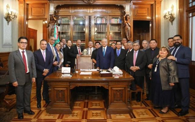 López Obrador se reúne con representantes evangélicos - amlo reunión representantes iglesias evangélicas