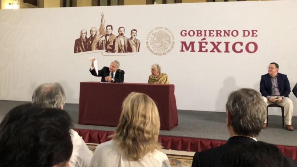 Redoblar esfuerzos y mantener austeridad: López Obrador a funcionarios - Foto de @EnriqueNovelo10
