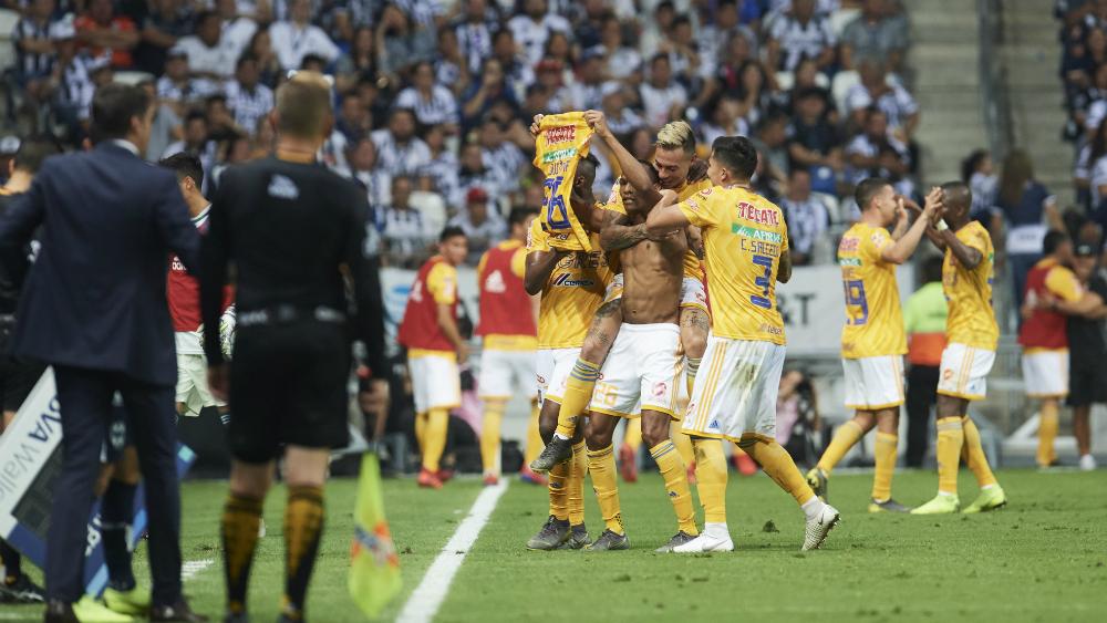 Tigres empata el Clásico Regio y mantiene liderato del Clausura 2019 - Foto de Mexsport