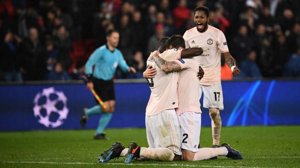Manchester United elimina al PSG con remontada agónica - Foto de AFP