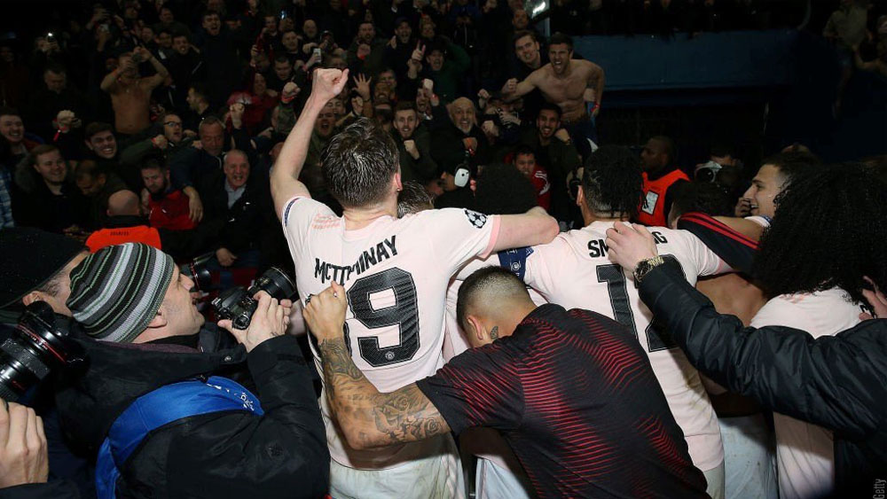 Despampanante golazo del Manchester United sobre Southampton