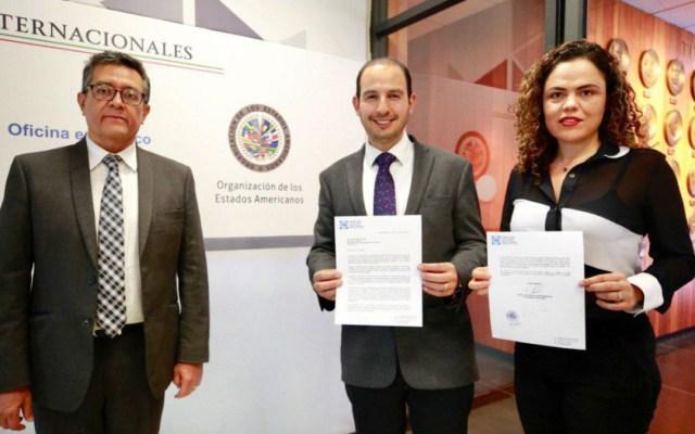 PAN advierte a la OEA de posible reelección de López Obrador - Marko Cortés OEA López Obrador reelección