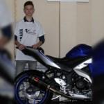 Muere piloto español de motociclismo de 14 años tras caída - Marcos Garrido Beltrán. Foto de Federación Andaluza de Motociclismo
