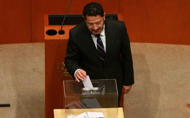 Revocación de mandato no es reelección: Martí Batres - Foto de Notimex