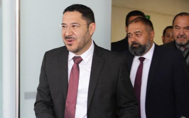 Falta de acuerdos para elección de ministro de SCJN impide discusión: Batres - Foto de Notimex
