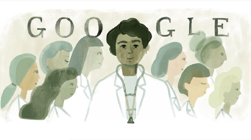 Google recuerda a la primera médica mexicana - Matilde Montoya. Foto de Google