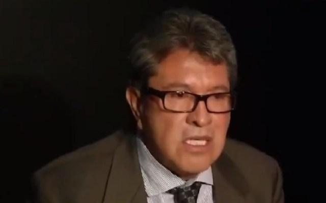 Ricardo Monreal dejará de opinar sobre elecciones de Puebla - Ricardo Monreal. Captura de pantalla