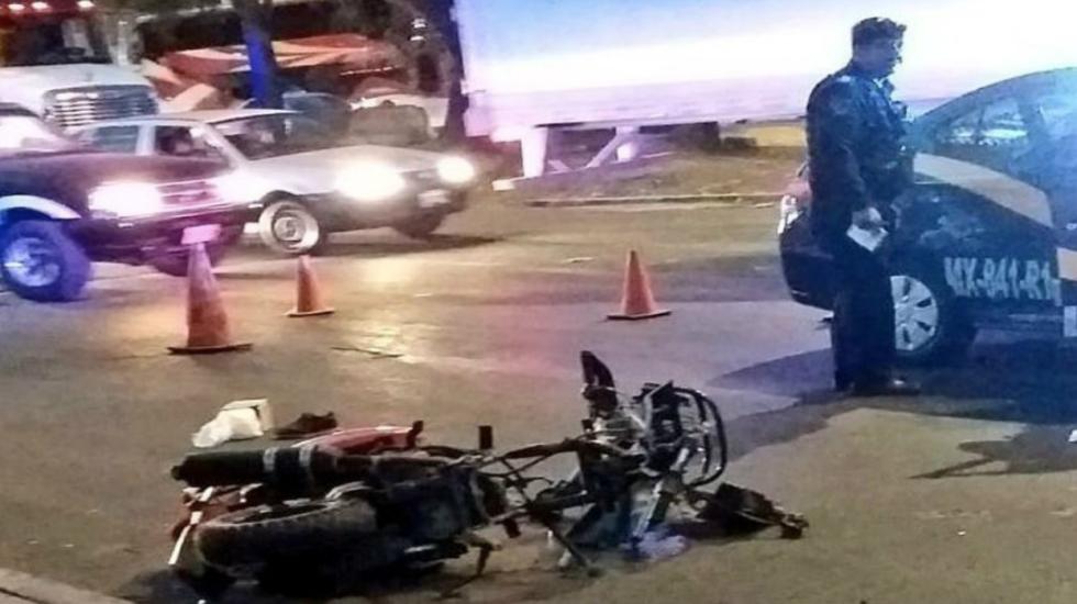Detienen a dos por atropellar a pasajeros de una moto en Iztapalapa - Foto de El Big Data