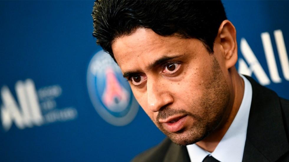 Imputan a presidente del PSG por corrupción - Nasser-Al-Khelaifi