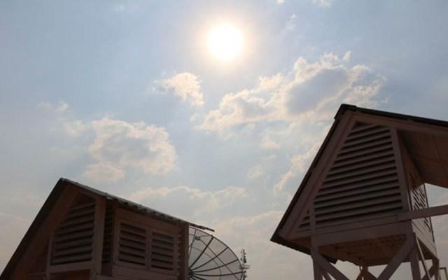 Hará mucho calor en la CDMX pero frío al noreste del país - Observatorio de la Conagua en Tacubaya. Foto de @conagua_clima