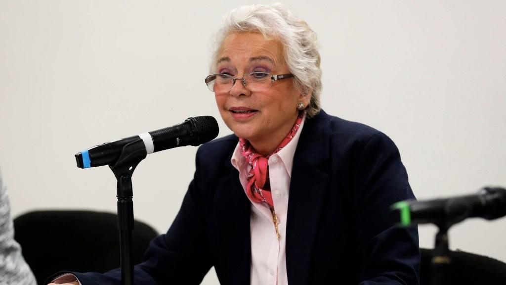 Se trabajará con el INPI en Ley de Consulta Previa: Sánchez Cordero - Foto de Notimex
