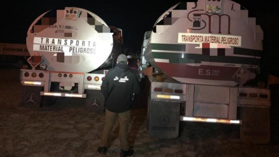 Aseguran dos pipas con 51 mil litros de combustible en Jalisco - Foto de El Informante