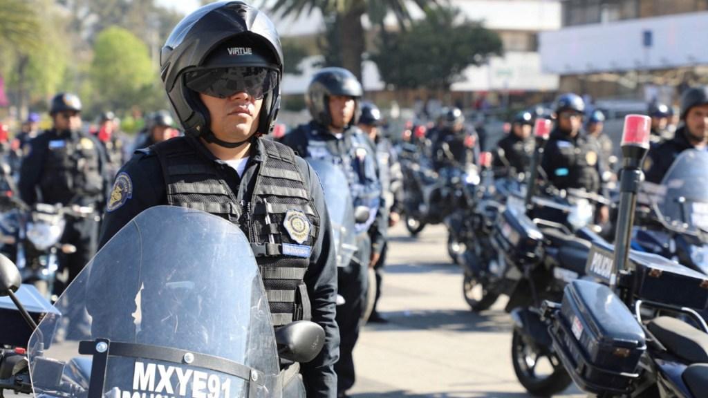 "SSC analiza equipar a oficiales con cámaras y ""tasers"" - SSC"