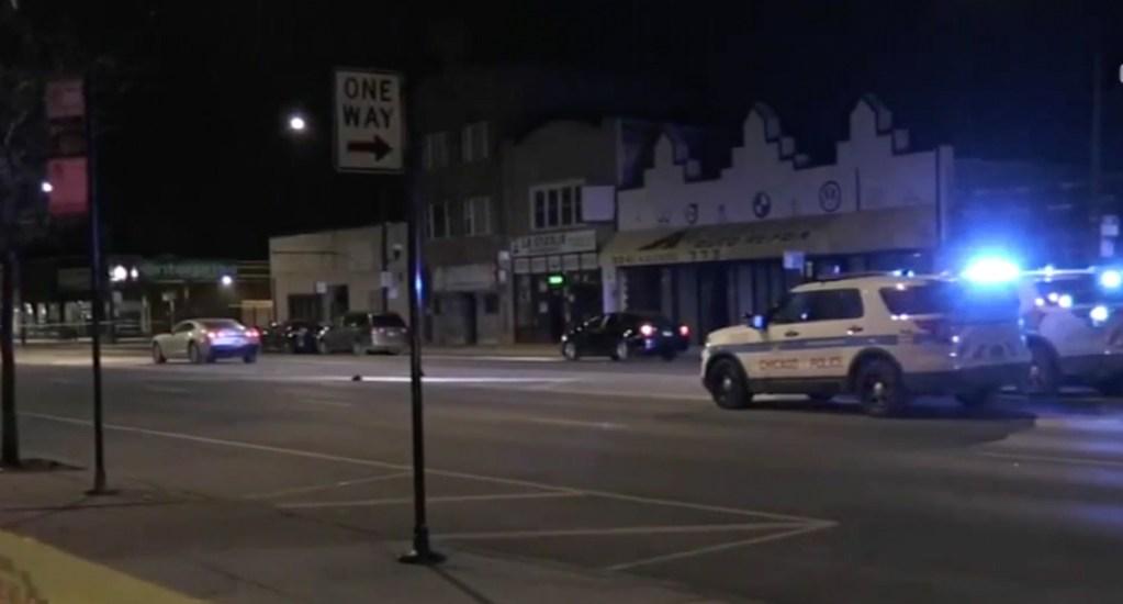 Hombre muere atropellado en Chicago - Captura de pantalla