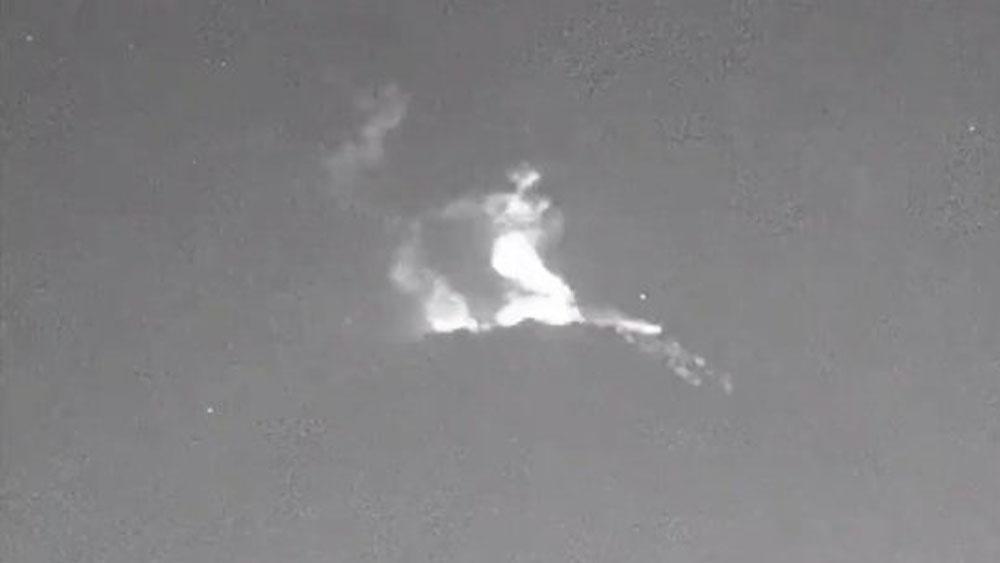 Popocatépetl emite ceniza y material incandescente. Noticias en tiempo real