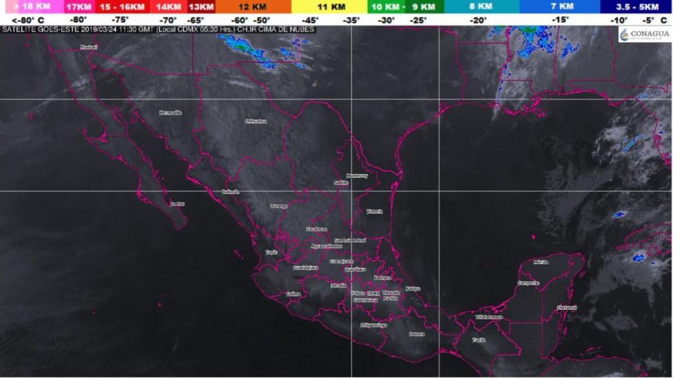 Frente frío 46 provocará vientos fuertes en el norte del país - Foto de @conagua_clima