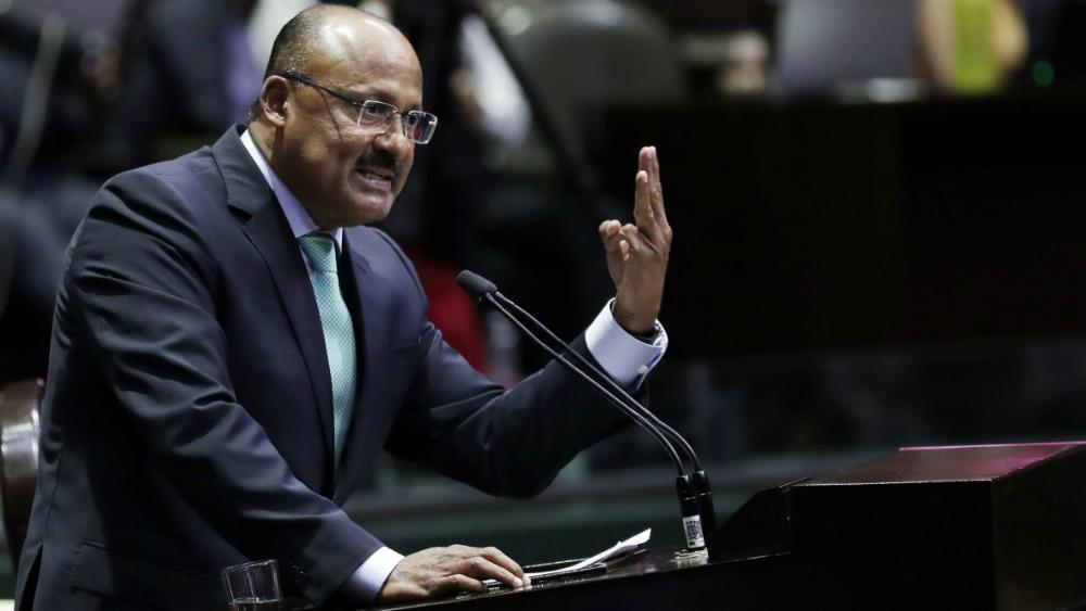 El PRI es la tercera fuerza irrefutable en la Cámara de Diputados; se debe respetar acuerdo fundacional, reitera Juárez Cisneros - Foto de Notimex