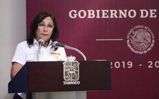 Rocío Nahle admite que desabasto de combustible fue por cierre de ductos - Foto de Notimex