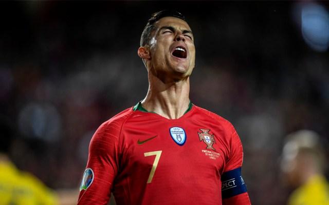 Dan a conocer el parte médico de Cristiano Ronaldo - Foto de AFP