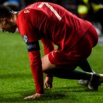 Sustituyen a Cristiano Ronaldo por lesión con Portugal - Foto de AFP