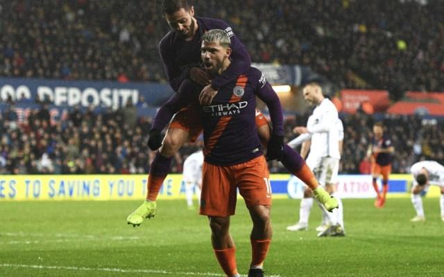 Manchester City remonta al Swansea y sigue aspirando a todo - Foto de @aguerosergiokun