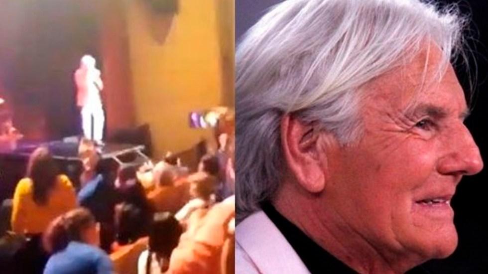 El cantante Sergio Denis en estado crítico tras caída en concierto - Foto Especial