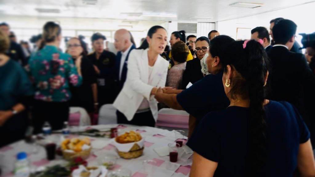 Sánchez Cordero, Müller y Sheinbaum visitan a reclusas de Tepepan. Noticias en tiempo real
