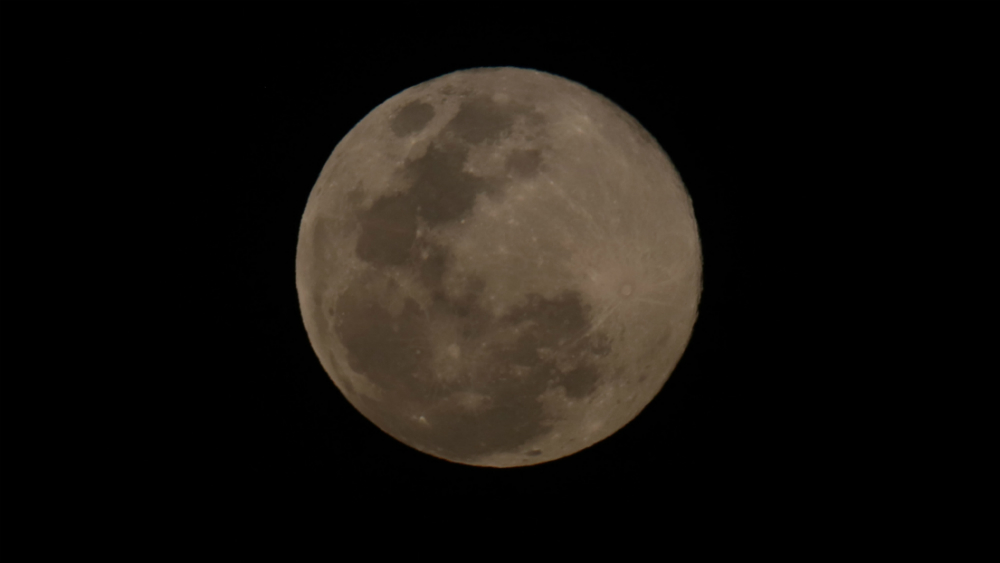 Así se ve la última superluna de 2019