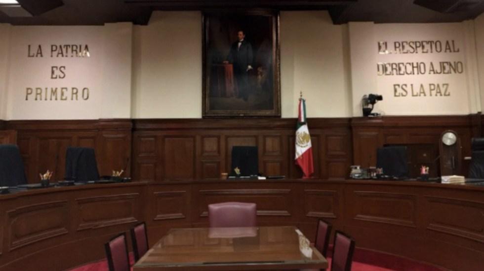 SCJN invalida requisito para beneficiarios de pensiones en Colima - En la imagen, el recinto de la Suprema Corte de Justicia de la Nación. Foto de SCJN