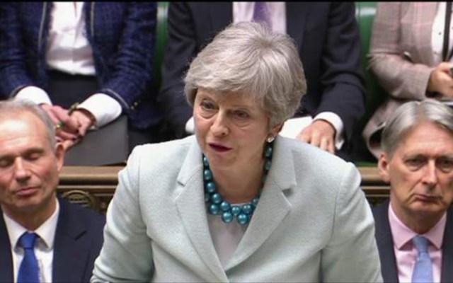 Theresa May pide a Corbyn alcanzar un acuerdo sobre el Brexit - theresa may llama a corbyn a lograr acuerdo del brexit