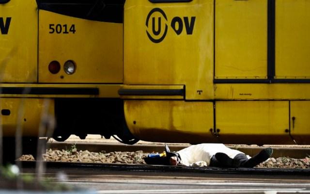 Tiroteo deja un muerto en tranvía de Holanda - Foto de AFP