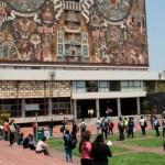 ¿Dónde ver los resultados del examen para la UNAM? - Alumnos en Ciudad Universitaria. Foto de @UNAM.MX.Oficial