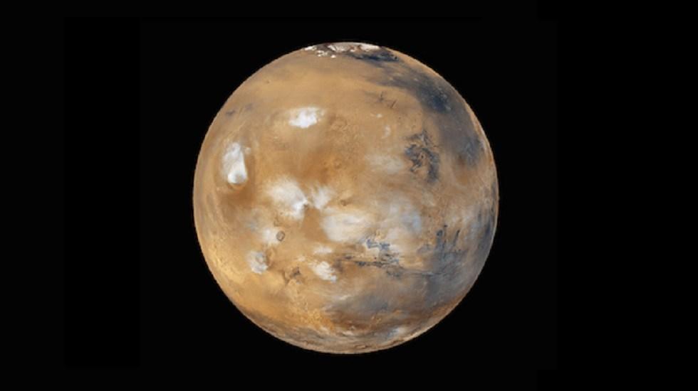 Fotografían valle del planeta Marte en 360 grados - Vista completa de Marte. Foto de NASA