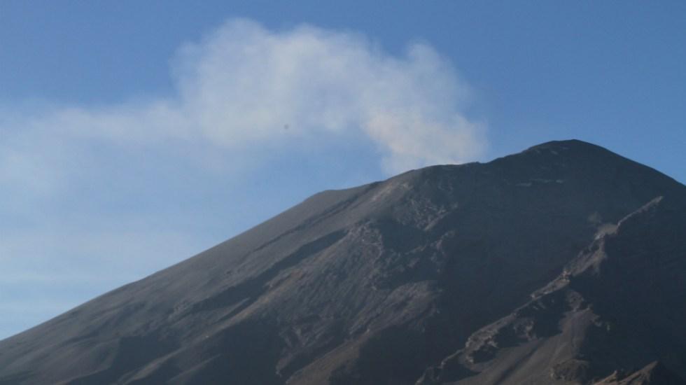 Se registran erupciones en cadena en el Popocatépetl - Foto de Notimex