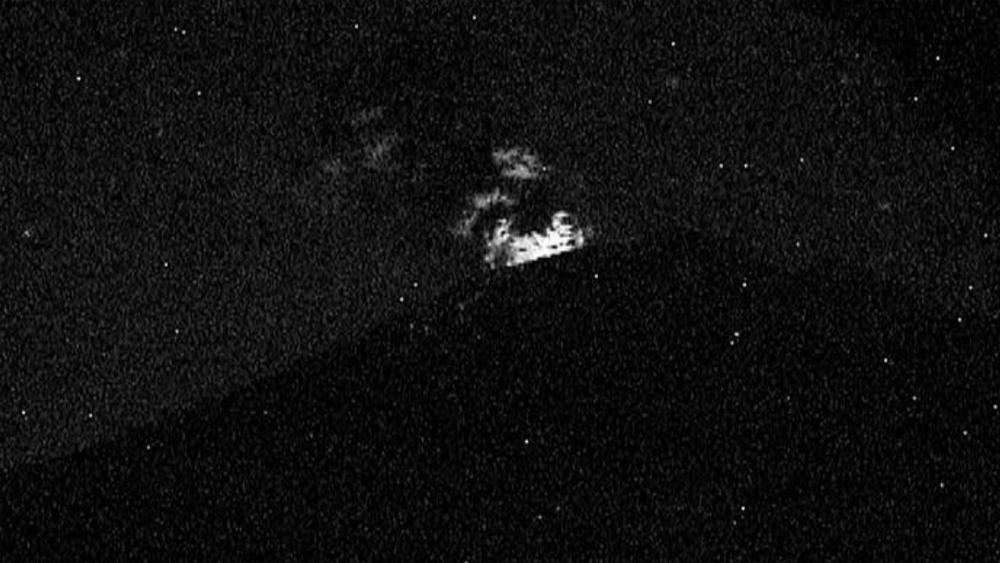 Reportan erupciones en cadena en volcán Popocatépetl. Noticias en tiempo real