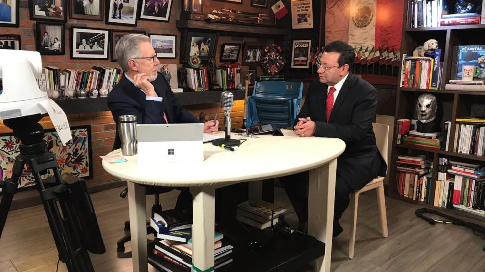 PES pierde registro; entrevista con Felipe Fuentes Barrera -  Felipe Fuentes Barrera con López-Dóriga