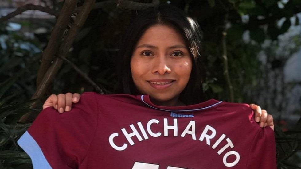 Yalitza Aparicio agradece a 'Chicharito'