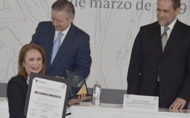 Reconoce SCJN a Yasmín Esquivel, candidata a ministra - Foto de  @YasminEsquivel_