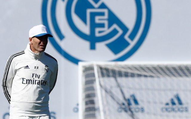 Zidane no contará con Ramos, Marcelo y Courtois para juego ante Eibar - El primer entrenamiento de Zidane