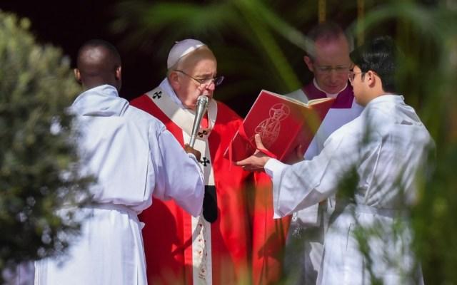 El papa Francisco llama a los cristianos a actuar con humildad - papa francisco domingo de ramos humildad