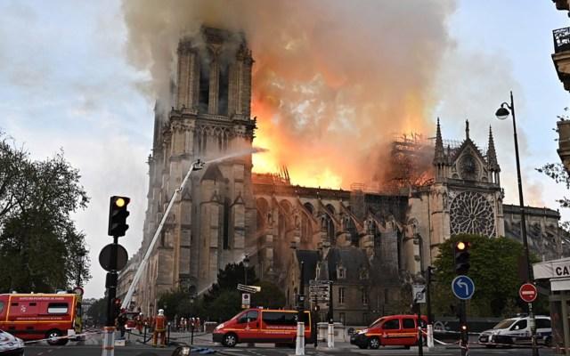 Reliquias de Notre-Dame se salvaron al estar en bodega: embajador de México ante UNESCO - catedral de notre-dame reliquias incendio