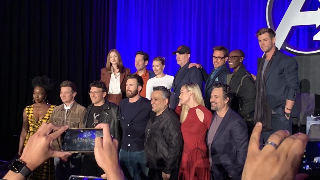 Sorprenden capitanes de Avengers: Endgame en nuevo tráiler