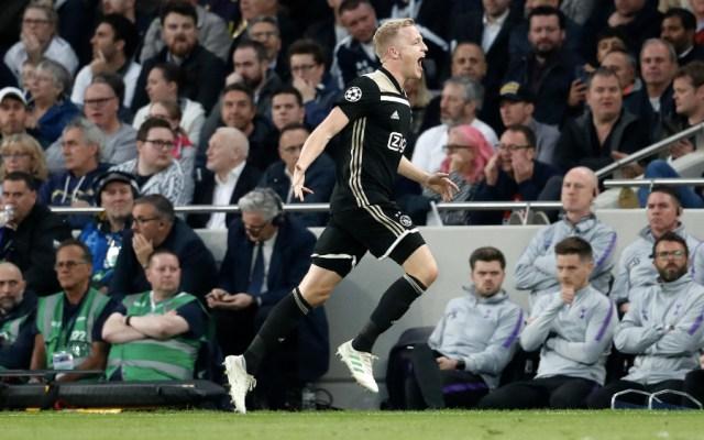 Ajax derrota al Tottenham y sueña con la final de la Champions - Foto de @AFCAjax